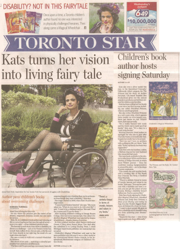 Toronto Star article on Jewel Kats