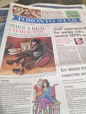 The Toronto Star front page